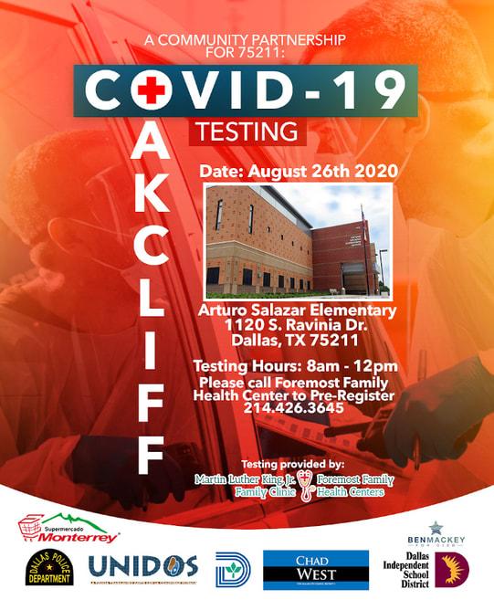 COVID-19 Testing in Oakcliff